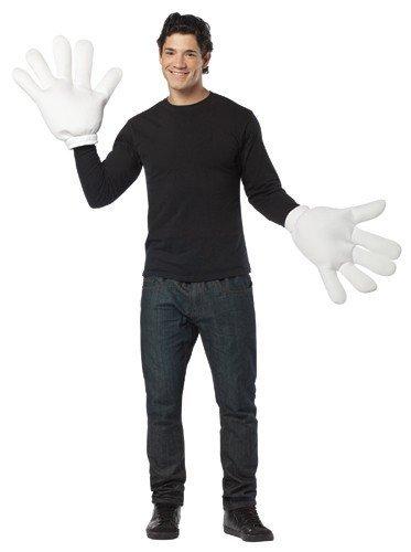 Rasta Imposta 5123 Riesen-Handschuhe weiß (Einheitsgröße)
