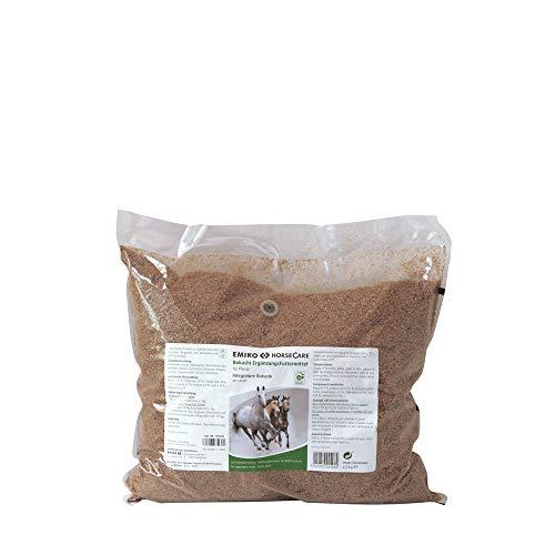 Emiko EM HorseCare Bokashi Effektive Mikroorganismen f. Pferde 4kg /Darmflora, Kleie-Kräuter-Ferment auf Basis der EM-Technologie, Ergänzungsfuttermittel mit natürlicher Milchsäure