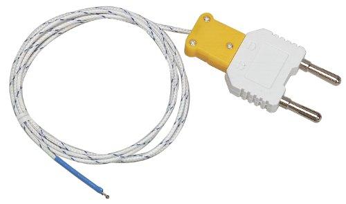 Multimeter Adapter (Extech Flexibler Typ-K-Temperaturmessfühler mit Bananensteckeradapter, 1 Stück, TP873)