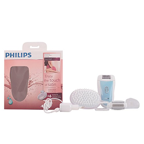 Philips Epilierer SatinSoft Wet und Dry HP6522/01, 2500 Watt