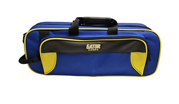 Yellow and Blue Gator GL-TRUMPET-YB Lightweight Spirit Series Trumpet Case