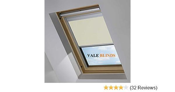 Vale Blinds Blackout Roof Skylight Blind For Velux Ggl 304 Cream 917149 0649