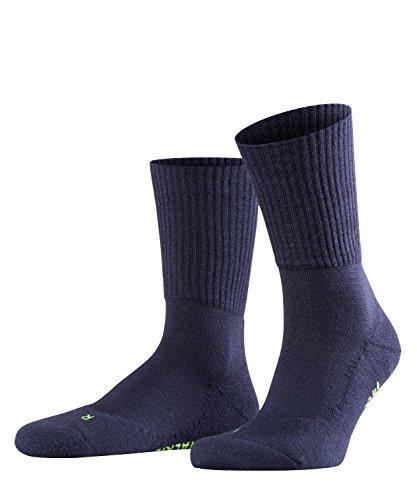 FALKE Unisex Socken Walkie Light, Schurwollmischung, 1 Paar, Blau (Marine 6120), Größe: 39-41