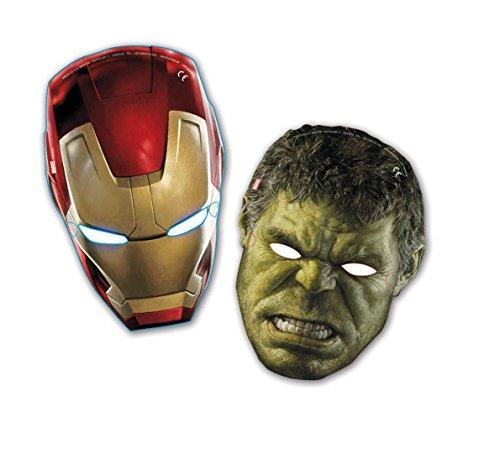Avengers Age of Ultron Party Masken, 6Stück