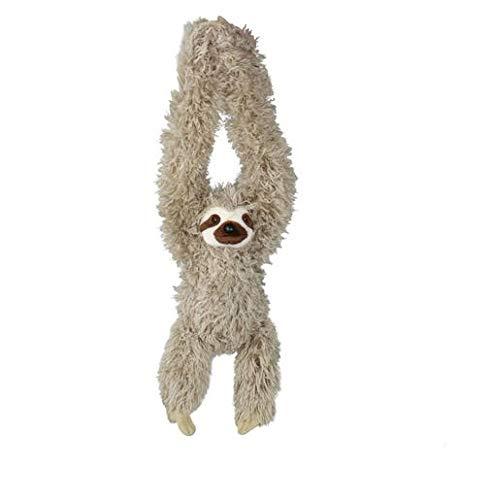 Kostüm Süßes Super Paar - Wild Republic 16387 - Hanging Sloth, Hängendes Plüsch Faultier mit Klettverschlüssen, 44 cm