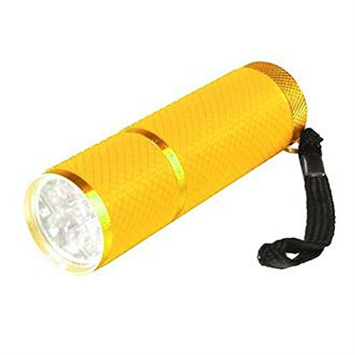 home-living-9-led-lumi-glow-flashlight-torch-one-size-neon-yellow