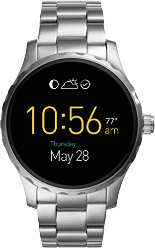 Fossil Q Marshal Touchscreen Silver Stainless Steel Smartwatch