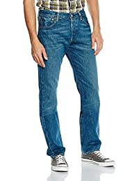 Levi's - Jeans - Jambe droite - Uni Homme Femme -  Bleu - W30/L34