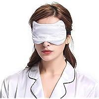 Lilysilk Niedlich Seide Schlafmaske Augenmaske mit Bestickter Katze Muster 19 Momme in Schachtelverpackung Weiß preisvergleich bei billige-tabletten.eu