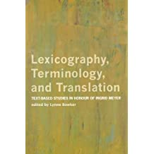 Lexicography, Terminology, and Translation: Ex- Based Studies in Honour