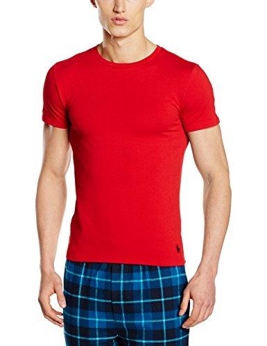 Polo Ralph Lauren Herren S/S Crew T-Shirt, Rot (Rl2000 Red 004), Medium (Herren Rot Ralph Lauren Tshirt)