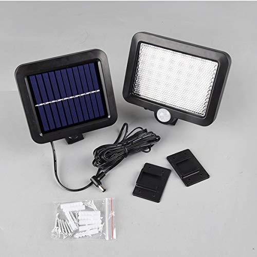 JohnJohnsen 56 Luz LED Solar al Aire Libre del jardín Luz de Pared Focos de la lámpara de la lámpara...