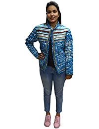 Girls CottonJacket Outerwear Large(Blue)
