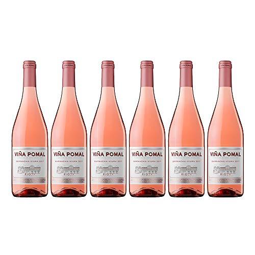 Viña Pomal | Vino Rosado 2017 Viña Pomal | D.O.Ca. Rioja | Caja De 6 Botellas De 75 Cl