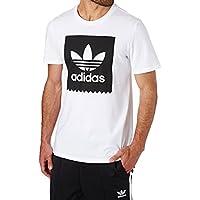 adidas Solid BB T Camiseta, Hombre, Blanco, XS