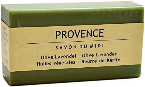 Seife mit Karité-Butter - Provence (Olive Lavendel) -