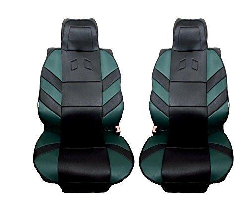 2x Grüne Vordere Sitzauflegen Auto Sitzauflagen Neu Autoschutz Hochwertig Auflage OVP