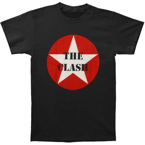 FEA Merchandising - Camiseta - Hombre de color Negro de talla Medium - Clash Star Logo (Camiseta)-medium