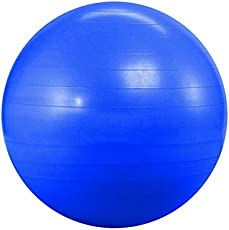 KOBO Imported Gym Ball 65 cm Anti Burst Blue Colour