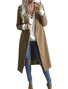 [Sponsorizzato]Cappotto Donna Invernali , Beautytop Autunno Lungo Cappotto Eleganti Giacche Manica Lunga Cardigan Cappotto Parka...
