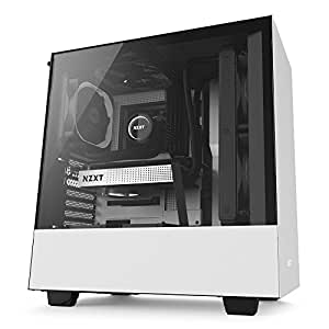 NZXT H500 ATX Computer Case (White and Black)