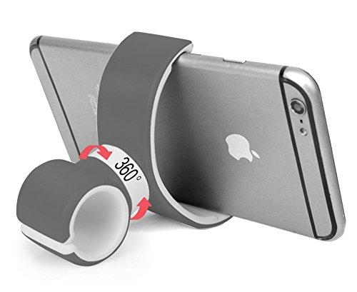 Handyständer,Fahrrad Handyhalterung,Autotelefonständer,Handyhalter Neue faul Stent,Silikonhalterung,Halterung Fahrradhalterung Kreative Silikon Lazy Clamp,Roreikes Universal Fahrrad Handy Halterung 360°Drehung für Apple iPhone 5/5s/6/6Plus und andere Smartphones
