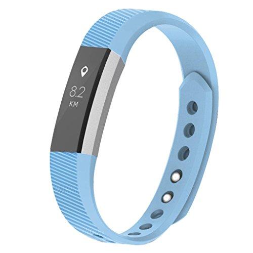 CICIYONER TPU Sports Strap Ersatzband für Fitbit Ace Ultradünne Armbänder 6,7-8,1 Zoll (Watch Kleine Clip)