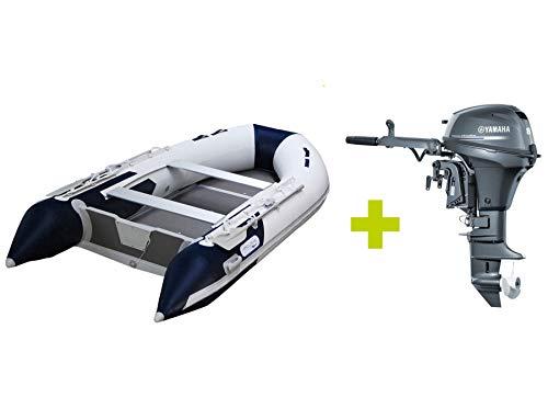 Prowake Schlauchboot mit Motor: AL 360 mit Aluminiumboden und Yamaha Außenbordmotor 8 PS