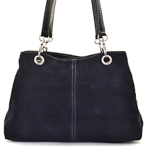 OH MY BAG Sac à Main en cuir nubuck femme porté main et épaule Modèle Inga - nouvelle collection 2018