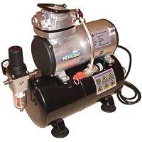 Hobby compressore aerografo con contenitore a pressione Fengda® AS-186