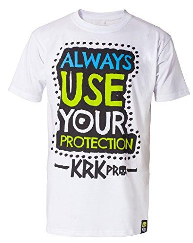 KRKpro*tection T-shirt ALWAYS (Small) (Die Crew-bettwäsche)