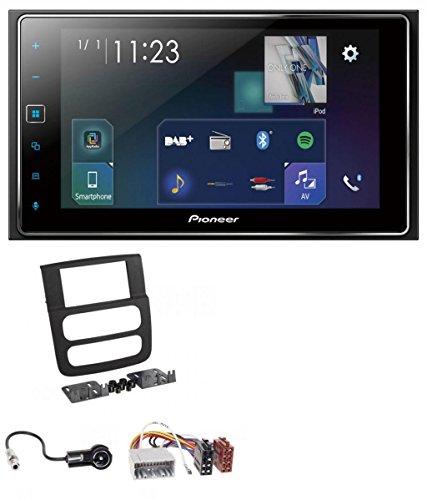 Pioneer SPH-DA130DAB MP3 DAB Bluetooth 2DIN USB Autoradio für Dodge RAM (2002-2006) (Dodge Ram Tuner)