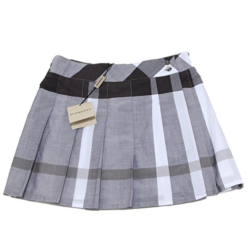 2753N gonna a portafoglio BURBERRY gonne check cotone bimba kilt skirts kids [8 YEARS]