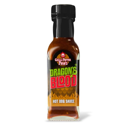 Chilli Pepper Pete's Drachenblut Hot BBQ Chilisauce - 125 ml