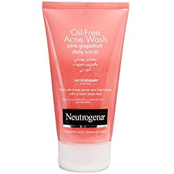 Neutrogena Oil-Free Acne Wash Pink Grapefruit Daily Scrub 150 mL