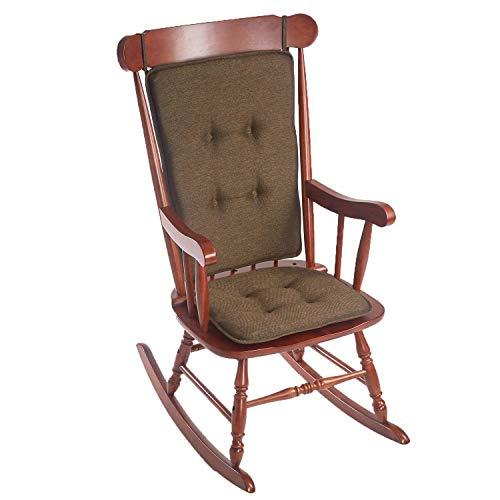 Klear Vu Embrace Schaukelstuhlset, Sitzfläche: 40,6 x 44,5 x 5,1 cm, Rückenlehne: 63,5 x 50,8 cm, Schokoladenbraun