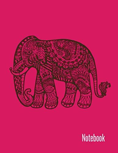 Mandala Notebook: Lined Mandala Journal, (8.5