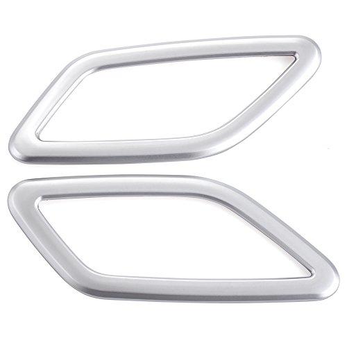 Preisvergleich Produktbild 2x Innen AC Ausströmer Dekorative Abdeckrahmen für Mercedes Benz GLA-Class X156/CLA-class C117 W117