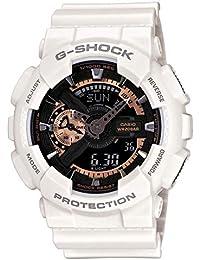 ed7adc829486 Casio Reloj Analógico-Digital para Hombre de Cuarzo con Correa en Resina  GA-110RG