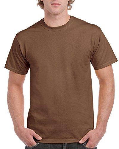 Ultra Cotton Classic Fit Adult T-Shirt - Farbe: Chestnut - Größe: XXL (Tee Ringer Jerzees)