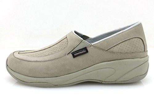 Mobils Mephisto Mocassins Extérieur Chaussures De Fitness pour femmes Tabata Chaussures en cuir Beige