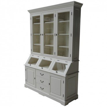 Casa-Padrino Shabby Chic Cottage Style Buffet Cabinet Cabinet 160cm ModF5 - Dining Room Cabinet