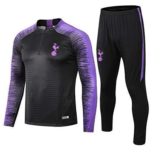 ZuanShiDaHeng 18-19 Jersey Football Club Langarm Fußball Uniform Geschenk Männer Wettbewerb Trainingsanzug @ Photo Color_L -