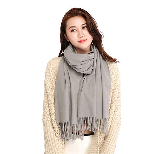 Longwu wrap scialle wrap scialle per donna inverno extra large (79