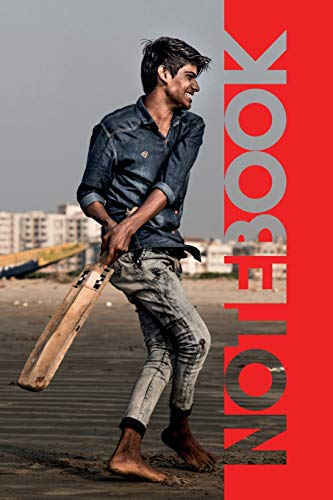Notebook: Beach Cricket Terrific Composition Book for Fast Bowling Match