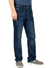 iLoveSIA® Herren Jeans Jeanshose klassisch denim Regular Straight Fit mit Falten