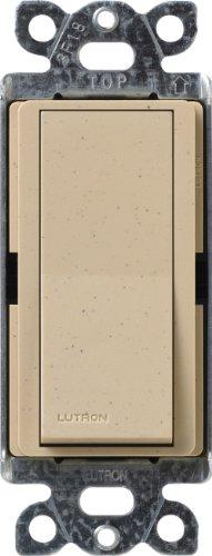 Lutron SC-4PS-DS Diva Satin Colors 15-Amp 4-Way Switch, Desert Stone by Lutron (Lutron Switch-desert Stone)