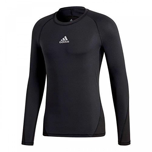 adidas Kinder Alphaskin Langarmshirt, Black, 152 Preisvergleich