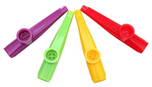 Classic Cantabile Fun Kazoo (Kunststoff Pfeife, sehr leichte Ansprache, weicher, sehr ausgeprägter, warmer Ton)