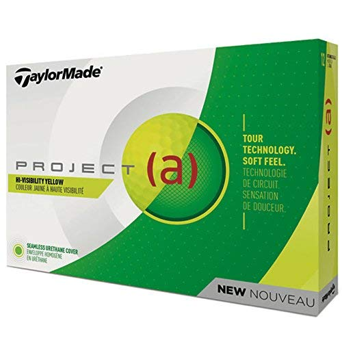 Taylormade projet (A) uréthane GOLF BALLES 1 douzaine jaune...